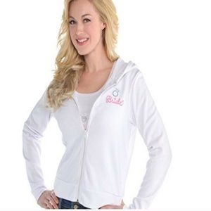 Bride zip up is NWT. Size small / medium